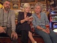 Margie Kisnky, Ina und Sido bei der Bierdeckelrunde