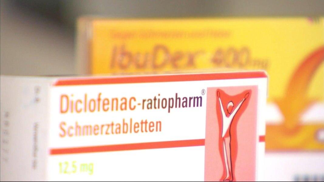 Schmerzmittel für Arthrose / Gelenkschmerzen