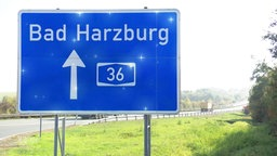 Autobahn 36 Richtung Bad Harzburg.