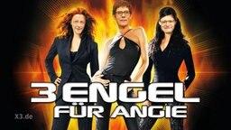Fotomontage von einem Drei Engel für Charlie Plakat und den Gesichtern von Merz, Spahn und Kramp-Karrenbauer