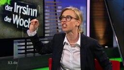 Kirstin Warnke imitiert Marlies Heidel