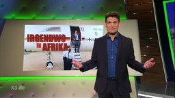 """Christian Ehring Stand Up """"Irgendwo in Afrika""""."""