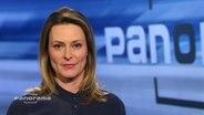 Anja Reschke moderiert Panorama.