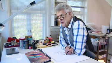 Cartoonist Peter Butschkow