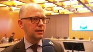 Justizsenator Toll Steffen im Interview.