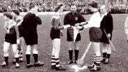 Archivmaterial Frauenfußball.