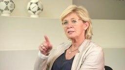 Die ehemalige Bundestrainerin Silvia Neid.