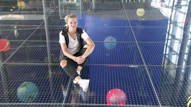 Die deutsche Nationalspielerin Alexandra Popp