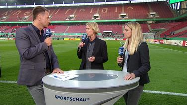 Bundestrainerin Martina Voss-Tecklenburg im Sportschau-Interview.