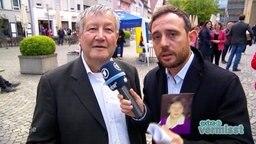 Reporter Jakob Leube ist auf der Suche nach Angela Merkel.