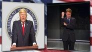 Max Giermann als Donald Trump.