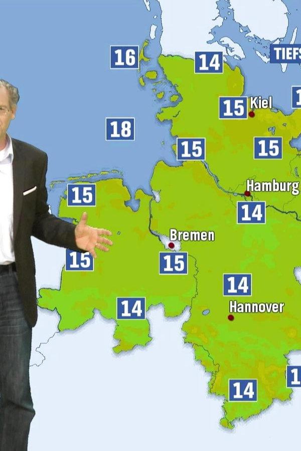 Das Wetter für Norddeutschland