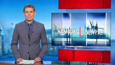 Carl-Georg Salzwedel moderiert das Hamburg Journal.
