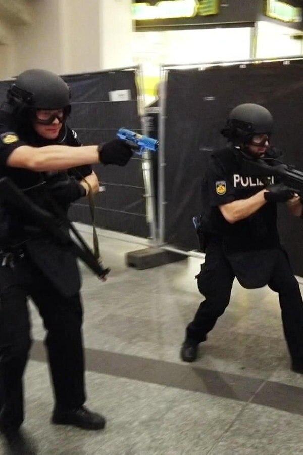 Bremen: Polizei probt Anti-Terror-Einsatz