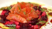 Lachs mit Rote Beete