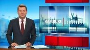 Hamburg Journal Moderator Jens Riewa im Studio