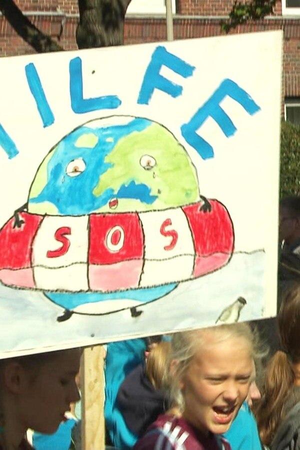 Klima-Demo: Zehntausende protestieren in Hannover