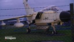 Ein Tornado-Kampfjet.