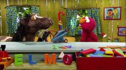 Elmo mit Pferd