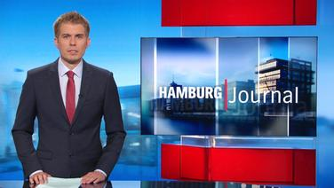 Carl-Georg Salzwedel moderiert das Hamburg Journal 18.00.