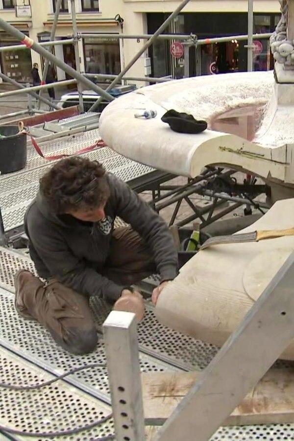 Güstrow: Gesprengter Brunnen bald repariert