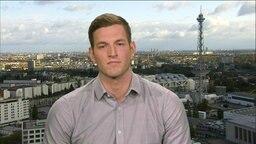 Bernhard Seifert im Interview bei der Sportschau während der Leichtathletik-WM 2019 in Doha.