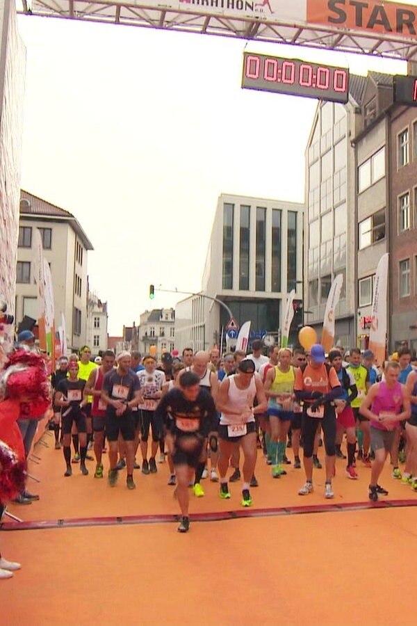 Über 4.000 Läufer starten beim Lübeck Marathon