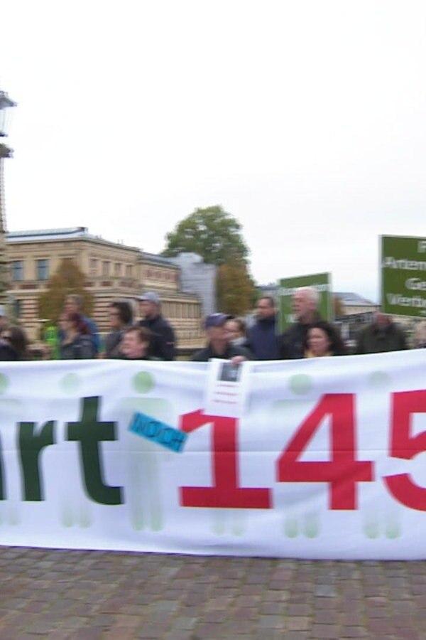 Landwirte demonstrieren gegen Bundes-Agrarpaket