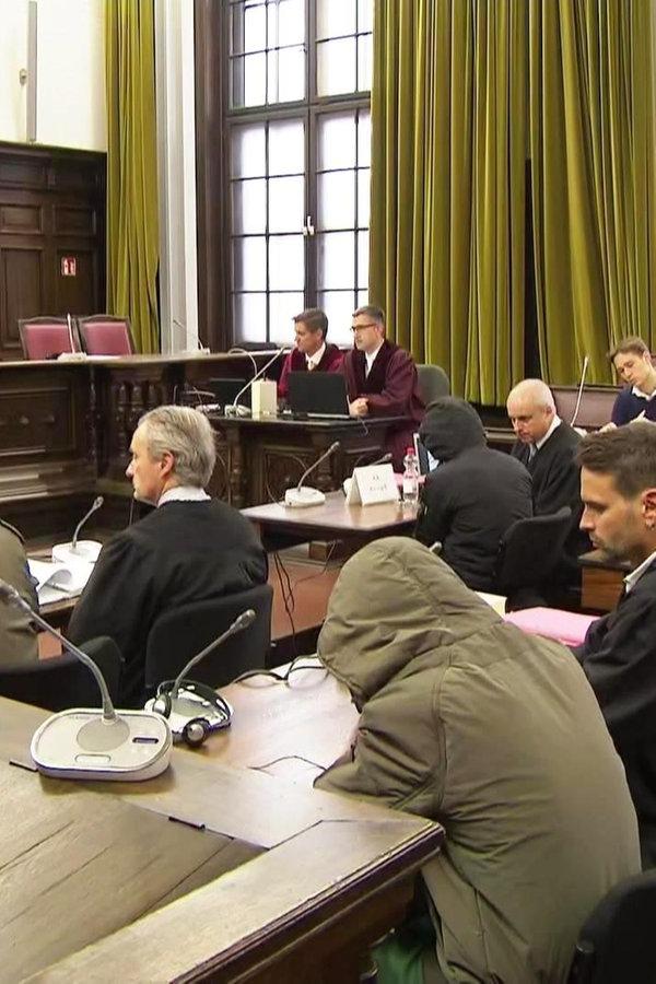 Drei Terrorverdächtige in Hamburg vor Gericht