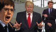 AKK, Donald Trump und Max Giermann