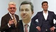 Heinz Strunk, Bernd Lucke und Ehring