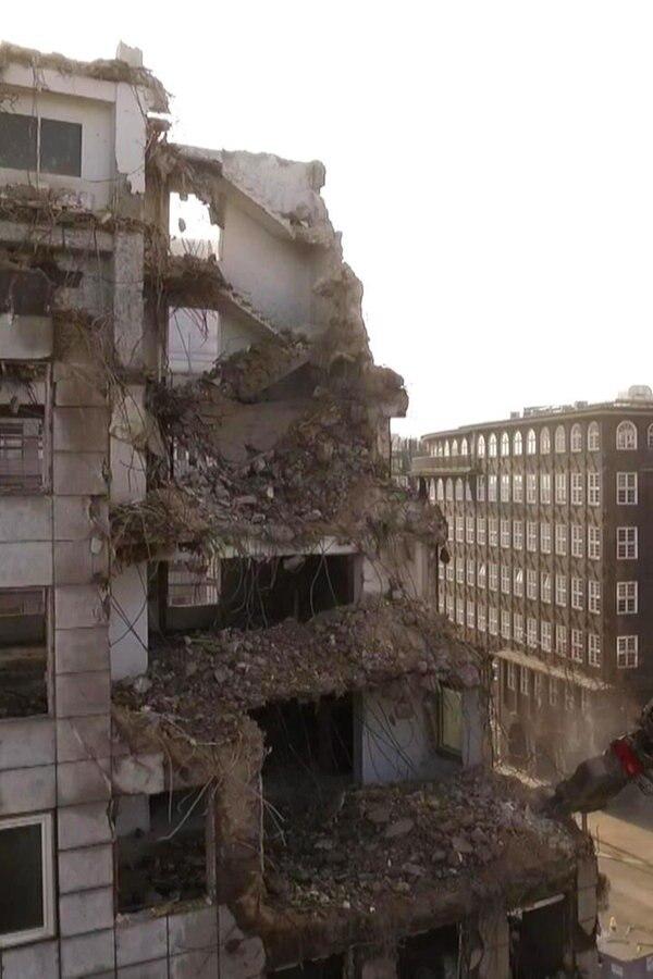 So geht der Abriss der City-Hochhäuser voran