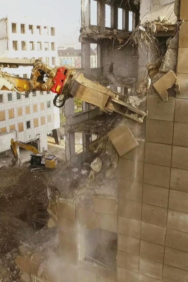 City-Hochhäuser werden abgerissen