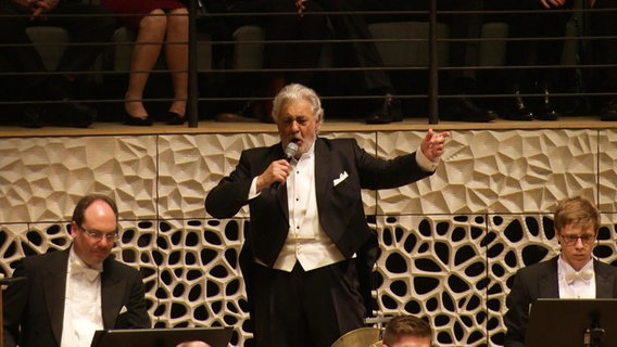 Placido Domingo singt in der Elbphilharmonie