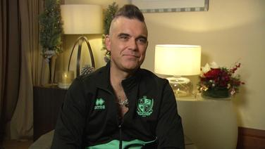 Robbie Williams im Interview