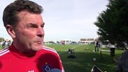 HSV-Trainer Dieter Hecking im Interview
