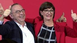 SPD: Norbert Walter-Borjans und Saskia Esken