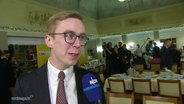 CDU Politer Philipp Amthor im Interview.