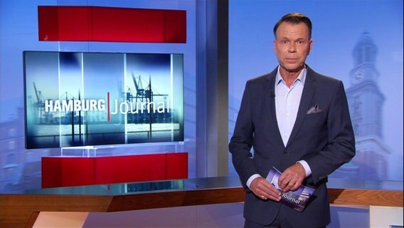 Hamburg Journal Ulf Ansorge im Studio.