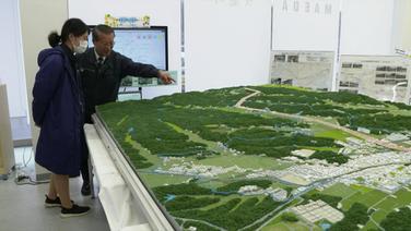 Modell der Gegend um Futaba (Screenshot)