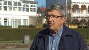 Innenminister Lorenz Caffier (CDU) im Interview am 21.03.2020.