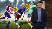 Trump, Johnson, Bolsonaro und Ehring.