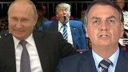 Putin, Trump, Bolsonaro.