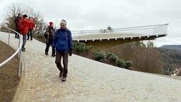 Der Skywalk von Bad Schandau