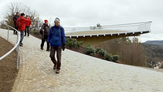 Der Skywalk von Bad Schandau