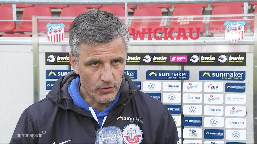 Hansa Rostock verspielt Sieg in Zwickau