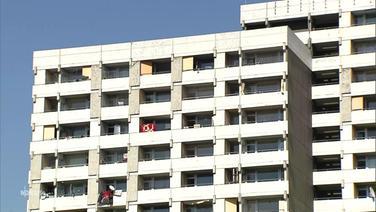 Ein Hochhauskomplex aus Göttingen. | Screenshot NDR