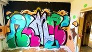 Ein Graffiti Bild