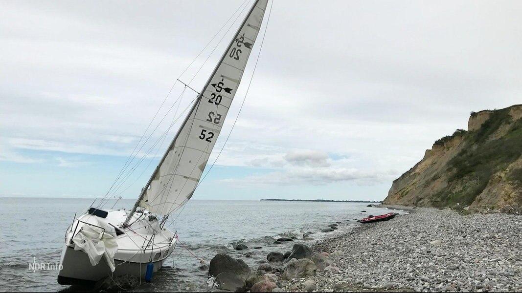 Segler schwer verletzt auf Hiddensee gestrandet