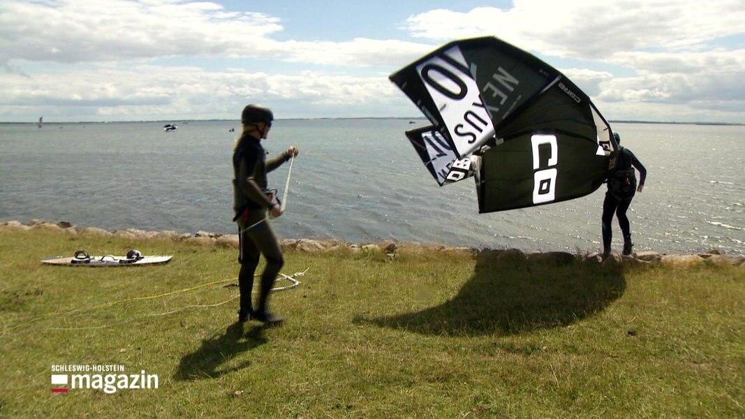 Fehmarn: Gefährden Surfer das Ökosystem?